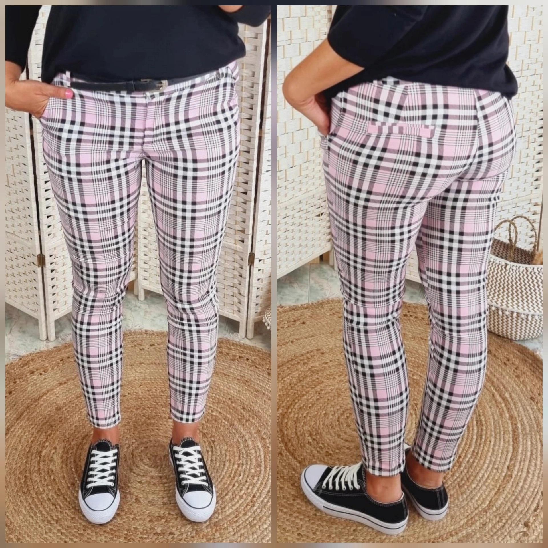 Pantalones Celia Rosa
