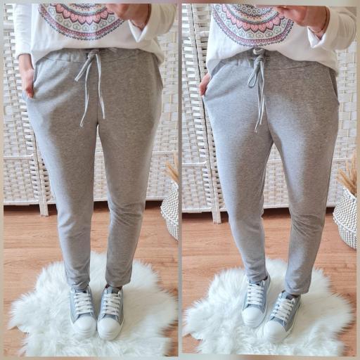 Pantalón Comfy Gris