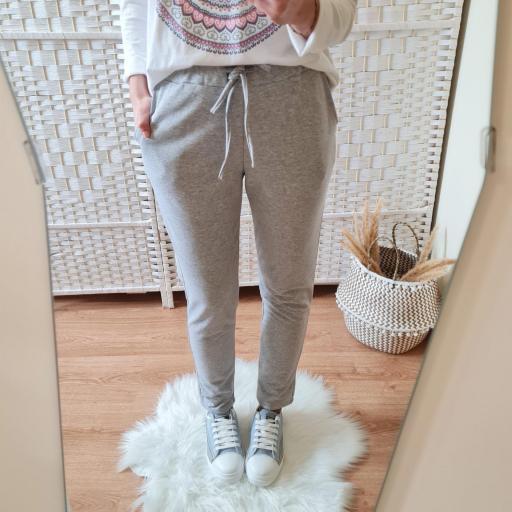Pantalón Comfy Gris [1]