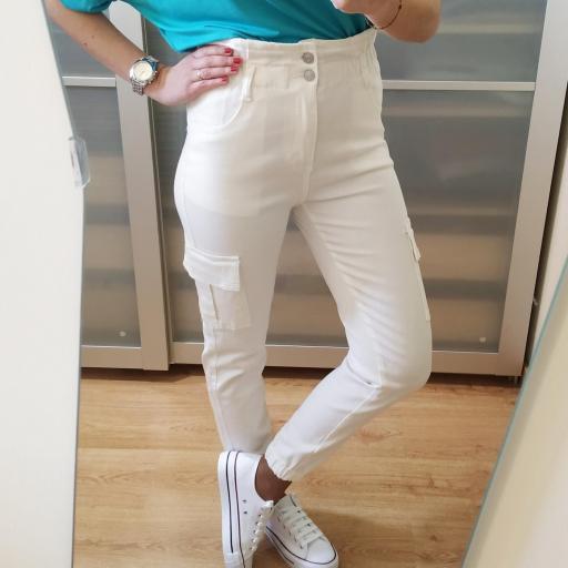Pantalones Blancos Laila [3]