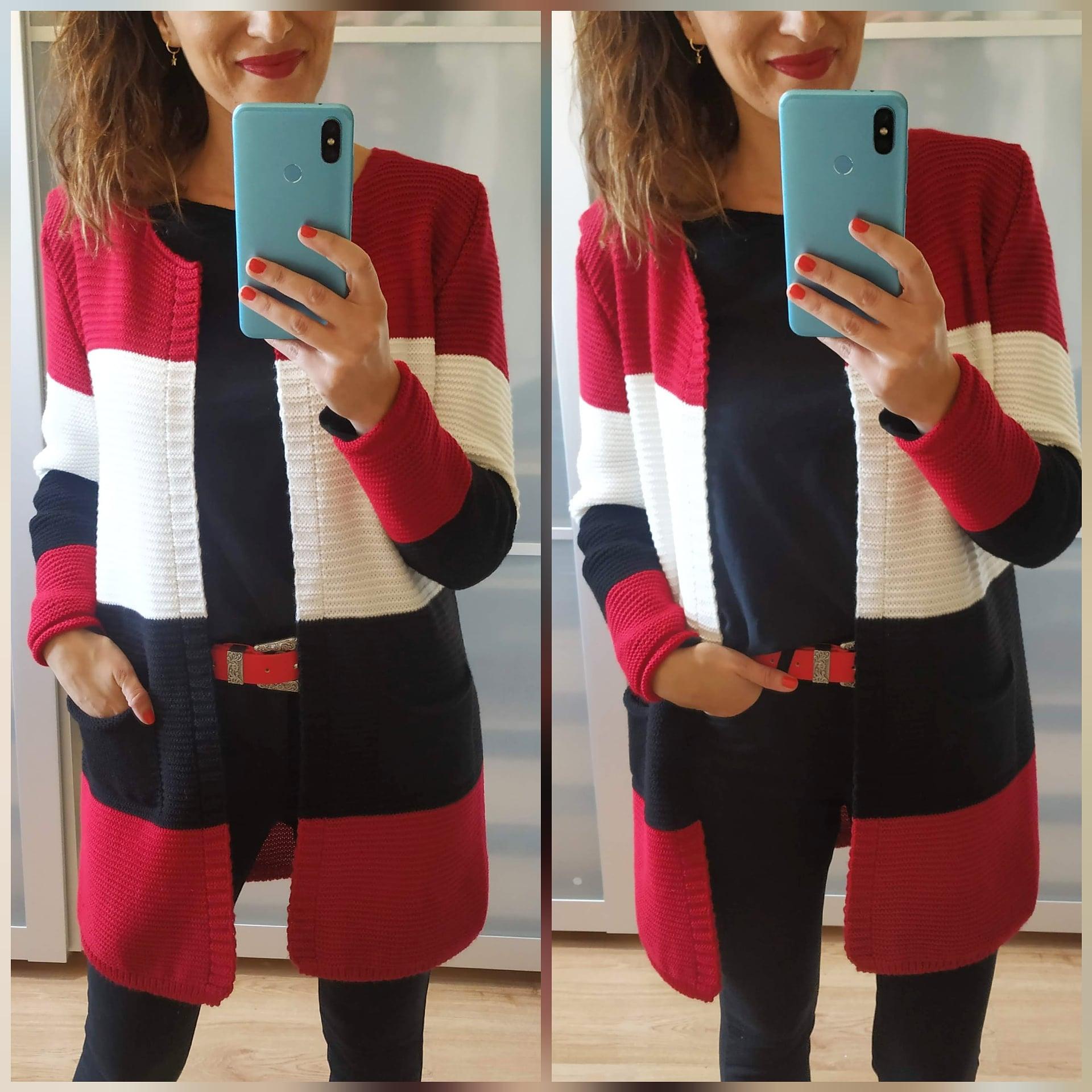 Rebeca Tricolor Florencia Roja