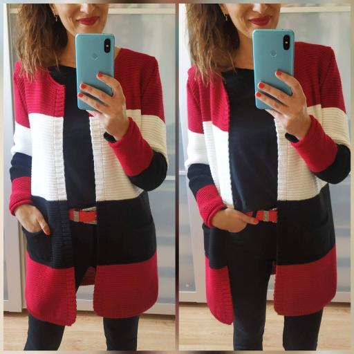 Rebeca Tricolor Florencia Roja [0]