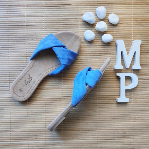 Sandalias Azules [1]