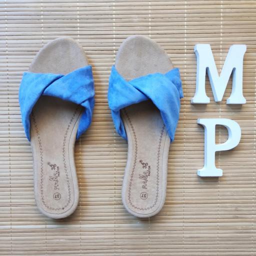 Sandalias Azules [2]