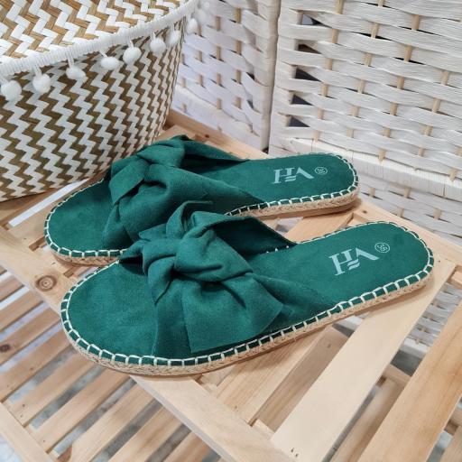Sandalias Verde Lazada