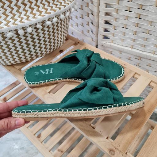 Sandalias Verde Lazada [1]
