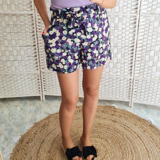 Short Flores Malva [1]