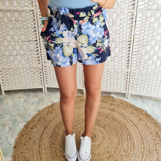 Short Flores Marino [1]