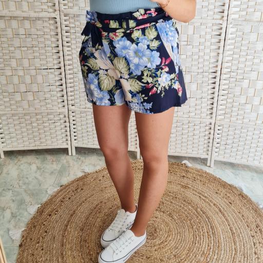 Short Flores Marino [2]