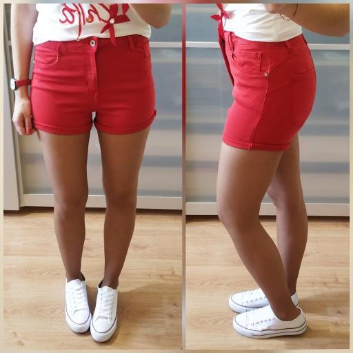 Short Rojos