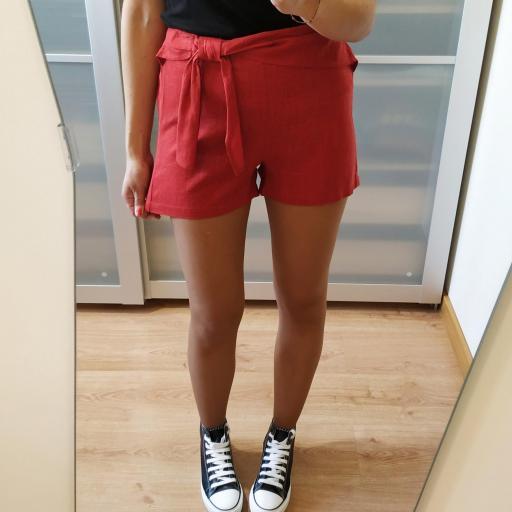 Short Rojo Lazo [1]