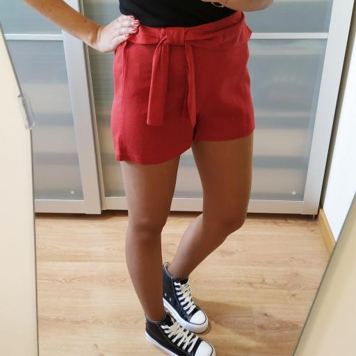 Short Rojo Lazo [3]