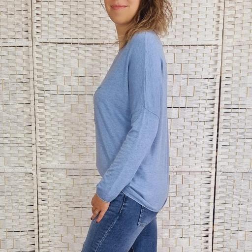 Suéter Azul Star [3]