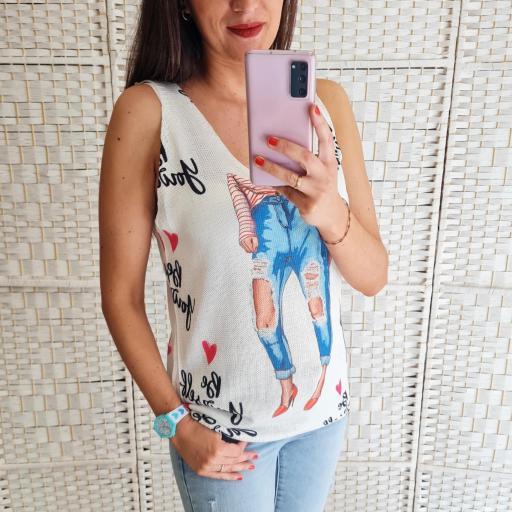Top Hilo Linda [2]