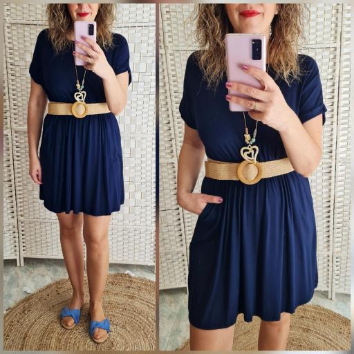 Vestido Azul [0]