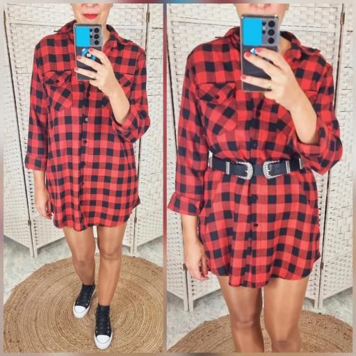 Vestido Frana Rojo [1]