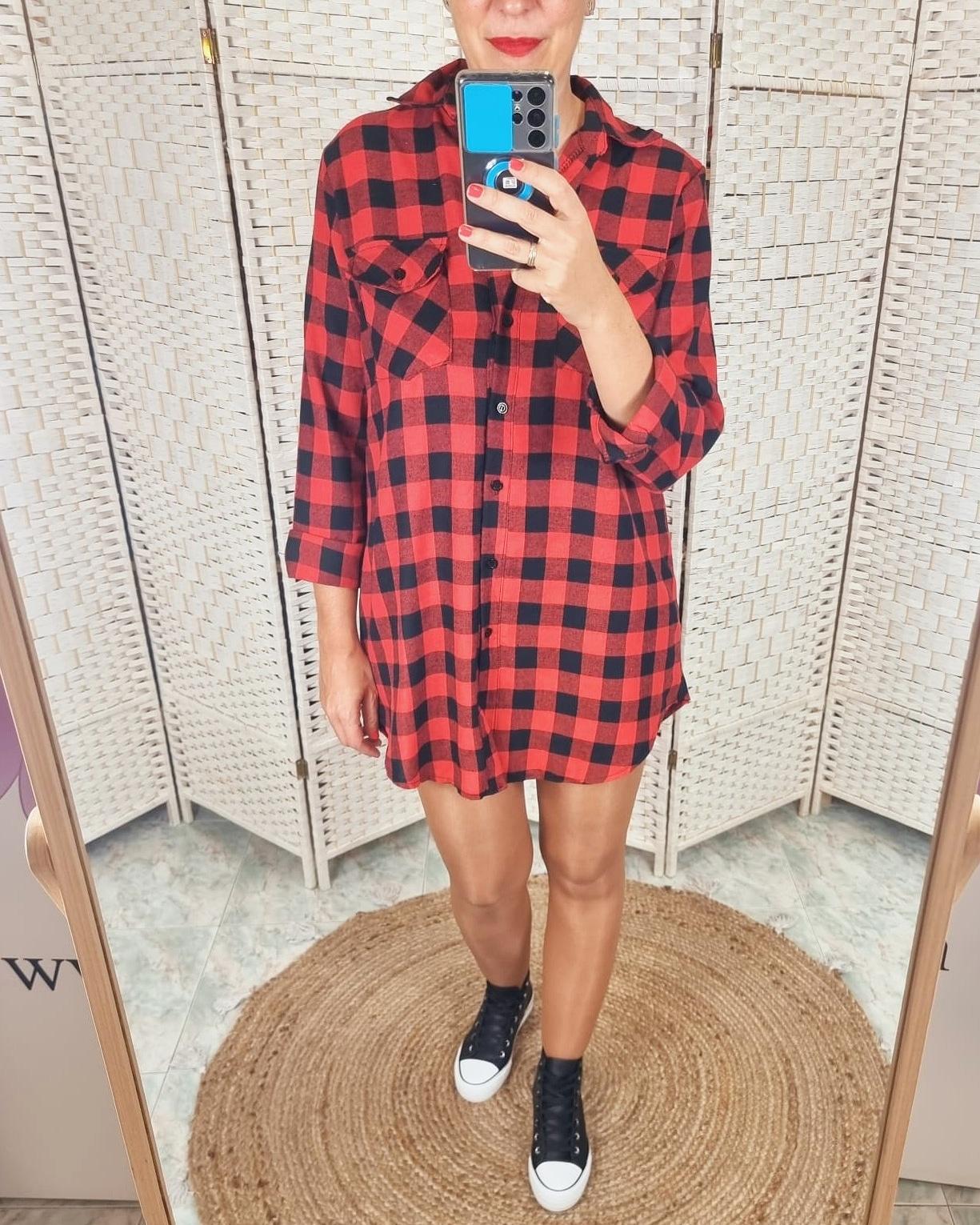 Vestido Frana Rojo
