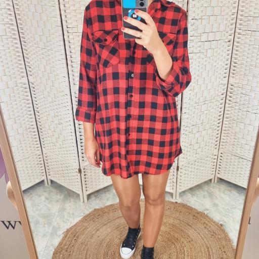 Vestido Frana Rojo [0]