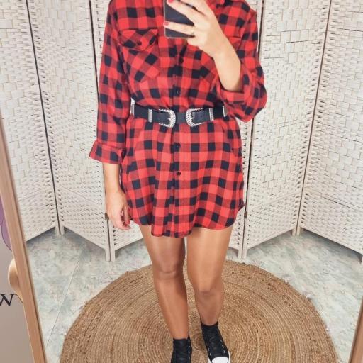 Vestido Frana Rojo [2]