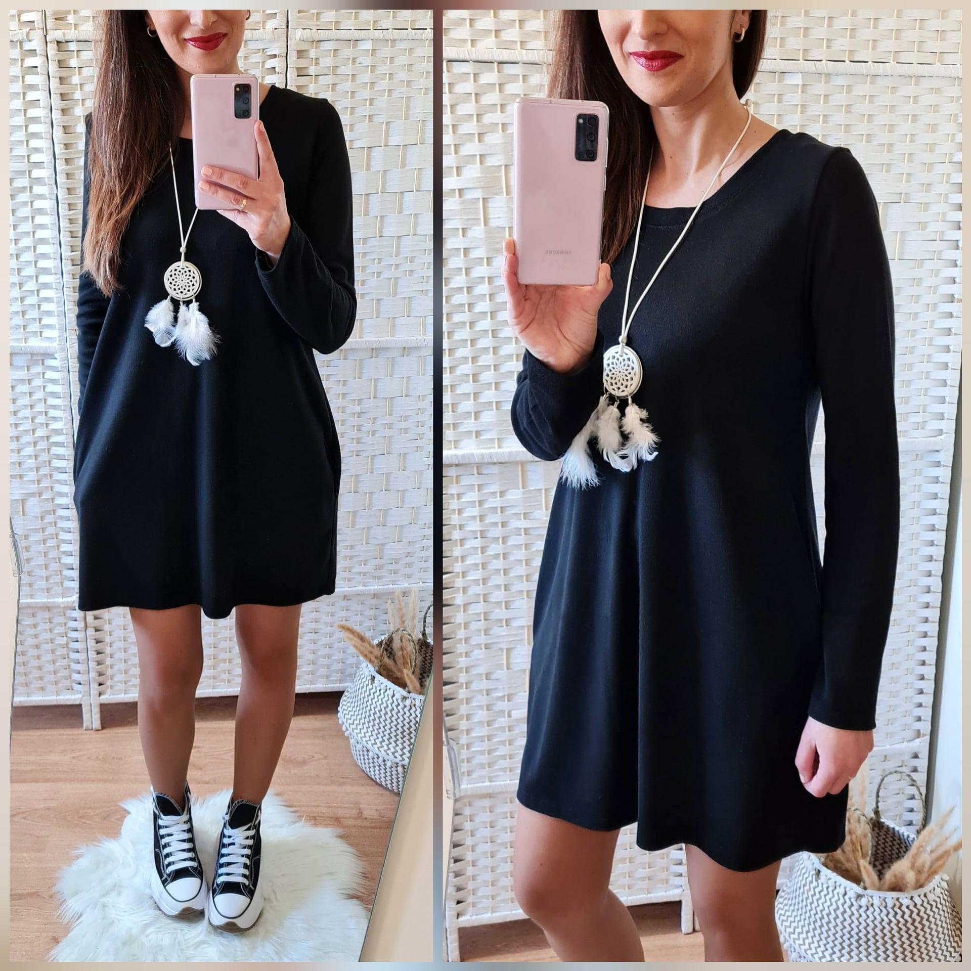 Vestido Martina Negro