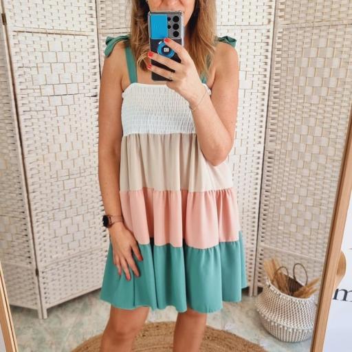 Vestido Multicolor Clara [1]