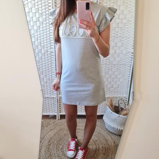 Vestido Perlas Gris [1]