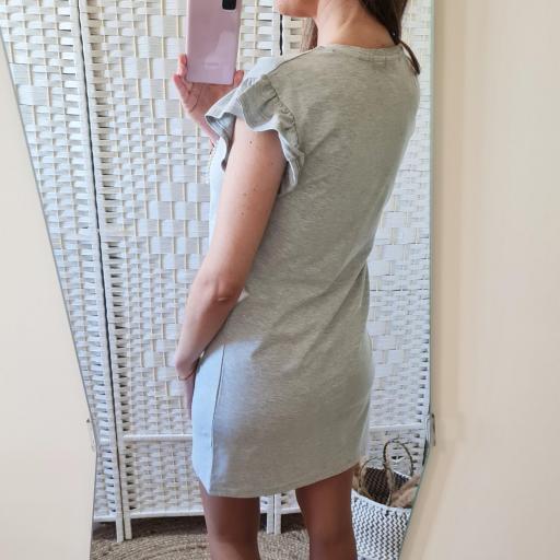 Vestido Perlas Gris [3]