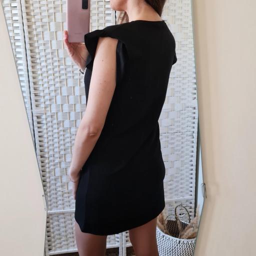 Vestido Perlas Negro [3]