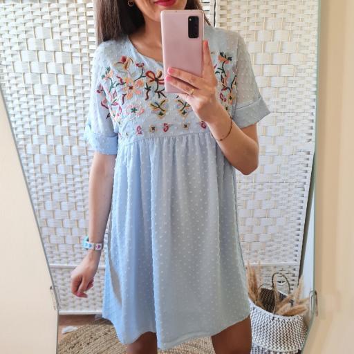 Vestido Plumeti Azul [1]