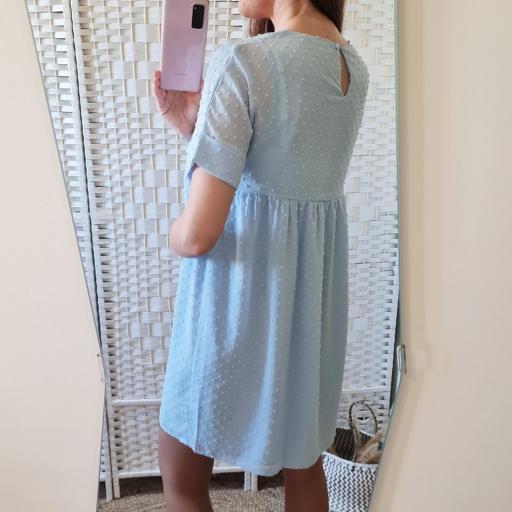 Vestido Plumeti Azul [2]
