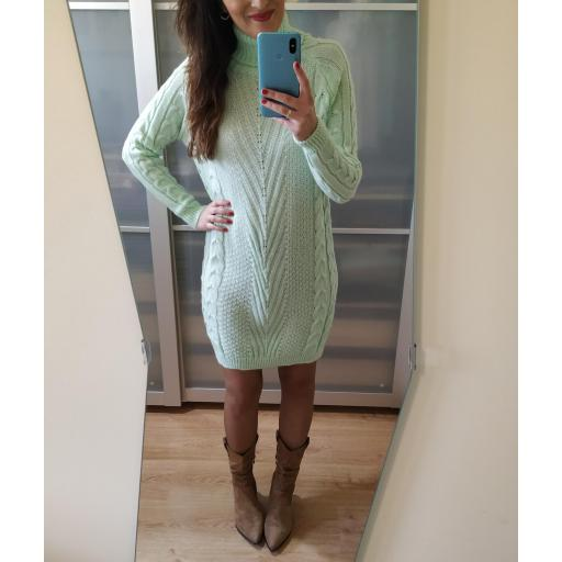 Vestido Punto Mint [1]