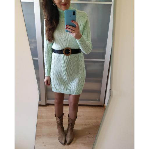 Vestido Punto Mint [3]