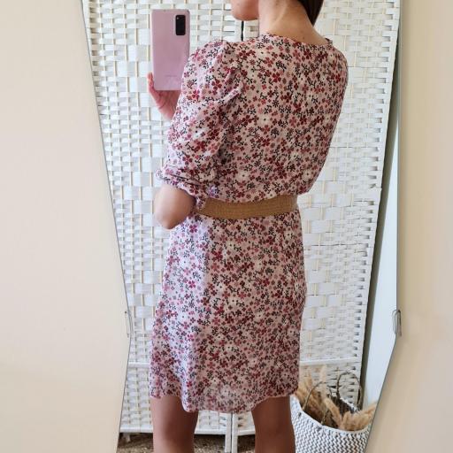 Vestido Flores Rosa [3]