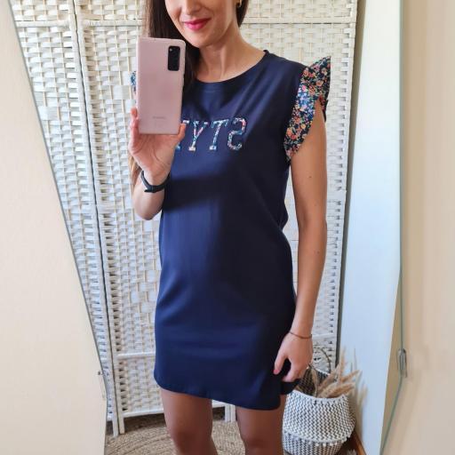Vestido Style Azul [2]