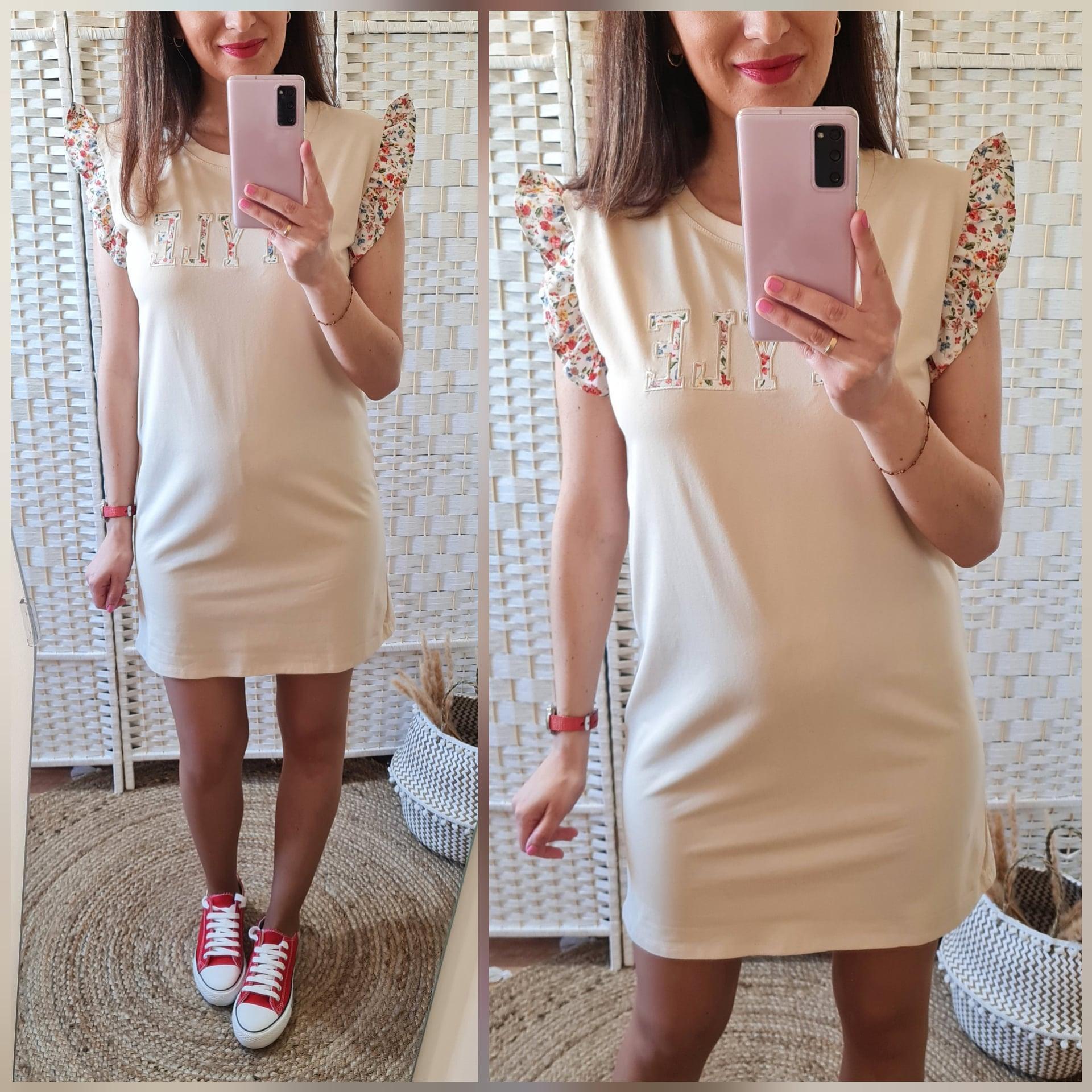 Vestido Style Beige