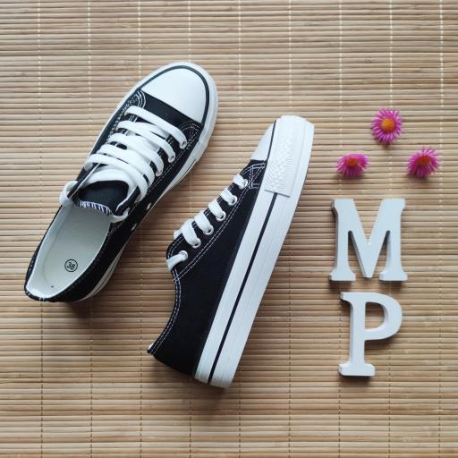 Zapatillas Negras Doble Suela [1]