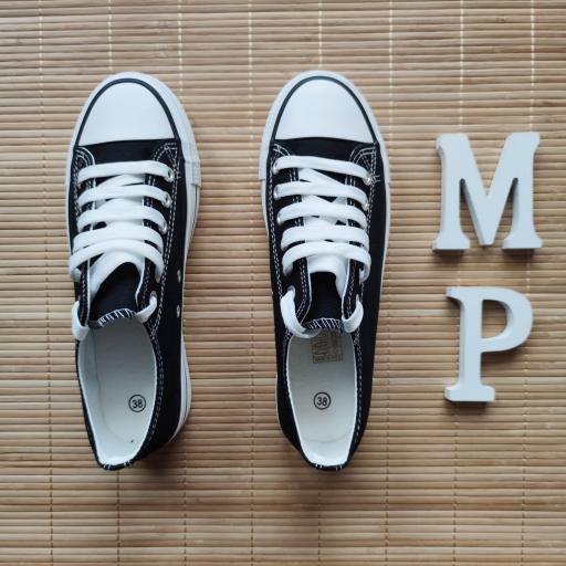 Zapatillas Negras Doble Suela [2]