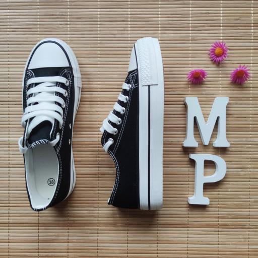Zapatillas Negras Doble Suela [3]