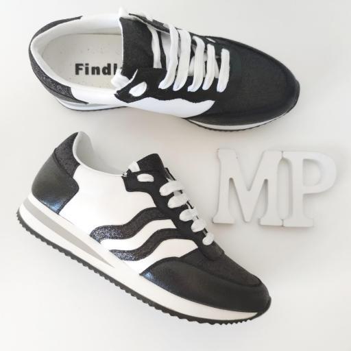 Zapatillas Negras Glitter [2]