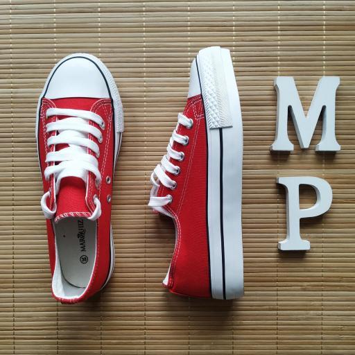 Zapatillas Rojas Doble Suela [2]