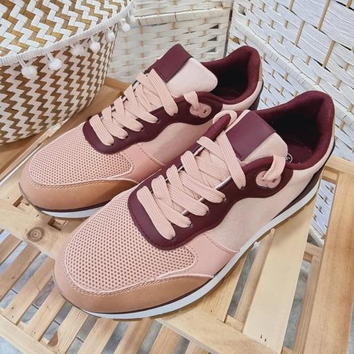 Zapatillas Rosas Combinadas [1]