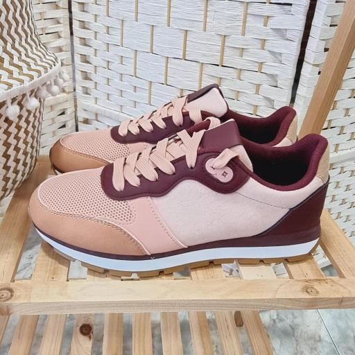 Zapatillas Rosas Combinadas [2]