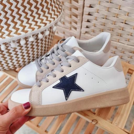 Zapatillas Star Navy
