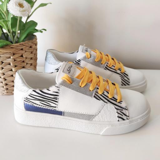 Zapatillas Yellow Print