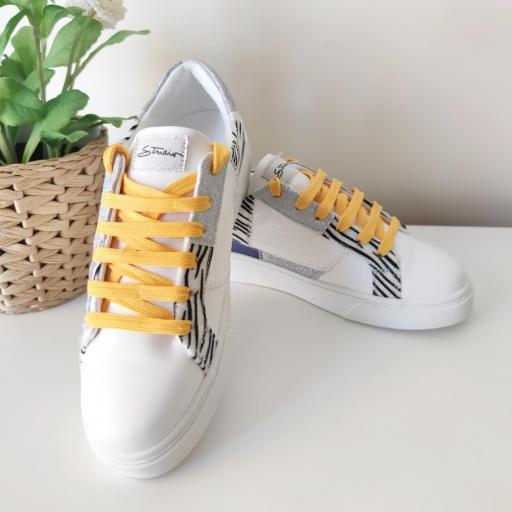 Zapatillas Yellow Print [1]