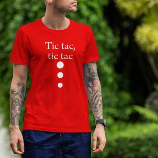 Tic tac Unixex B/N/V