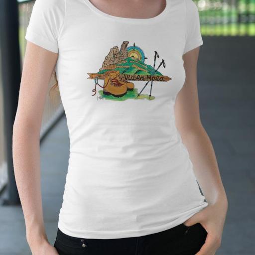 Camiseta La CASTELLASSA 1 B/N/V
