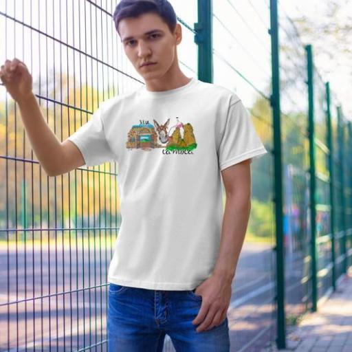 Camiseta Viu La Mola PORRO-2 B/N/V