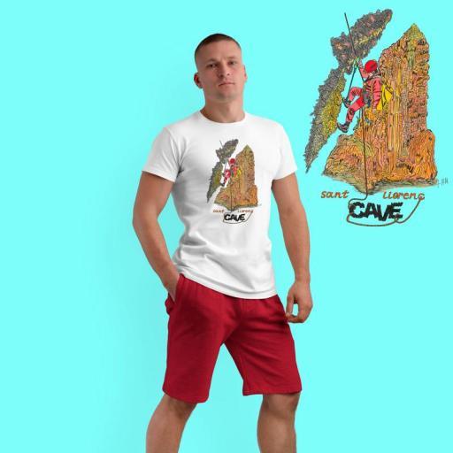 Camiseta TÉCNICA CAVE 22