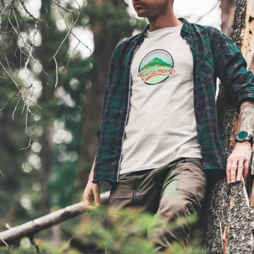 Camiseta Viu La Mola-26 Primer Aniversari Blanca